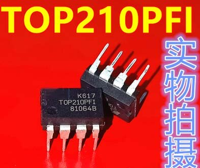 1pcs TOP210PFI TOP210PN TOP210 DIP-8 AC-DC conversor