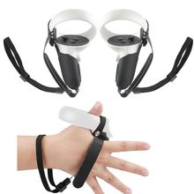5in1 Knuckle Strap+Grip Cover+Hand Strap+VR Lens Dust cover+Thumb Button Cap for Oculus Quest 2 VR C