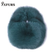 2020 New Imported Whole Skin Fox Fur Fashion Fur Lady Bag Arm in Arm Lift Korean Light Luxury Winter
