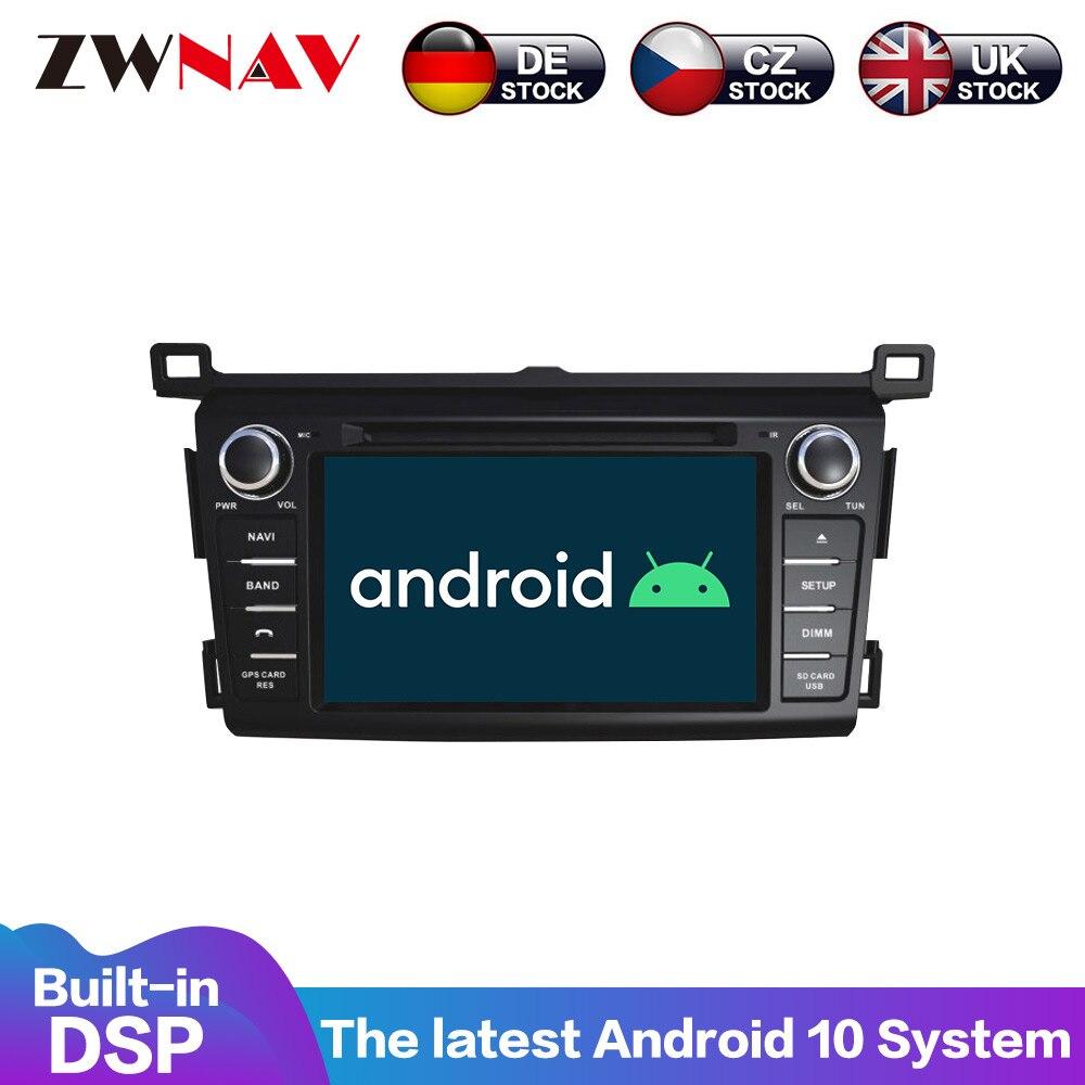 Reproductor multimedia con pantalla IPS y navegación GPS para Toyota, Radio con...