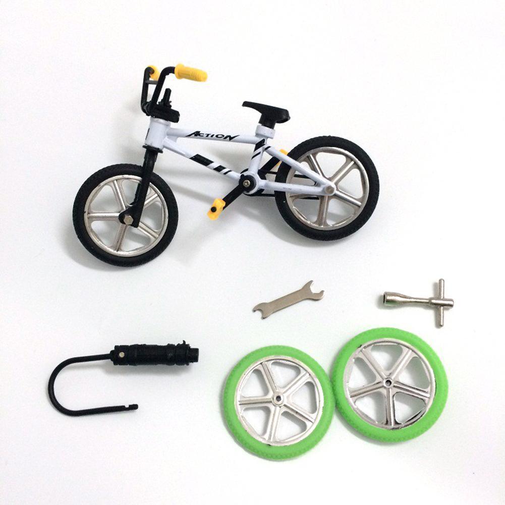 Мини-велосипед игрушечный сплав BMX Пальчиковый велосипед модели детской игрушки подарок украшение забавная Новинка Велосипед подарок 11 см ...