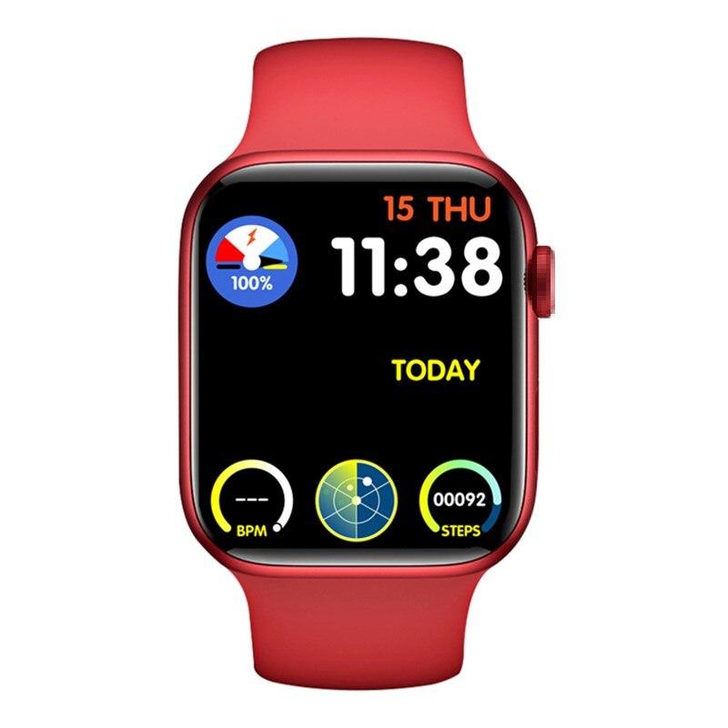 Get Series 6 Smart Watch 44MM 40MM Women Men HW22 Smartwatch with password Split Screen Bluetooth