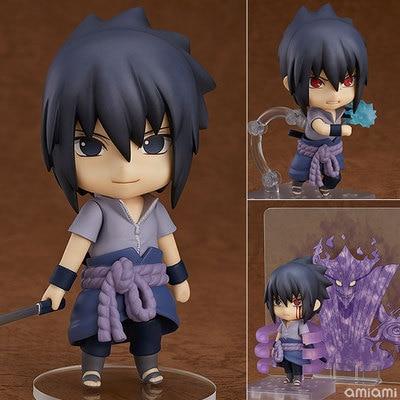 Naruto shippuden anime figura brinquedos mini sasuke uchiha pvc figura de ação brinquedos uchiha itachi bonito coleção modelo boneca presente