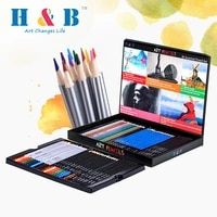 60 colors wooden colored pencils professional water soluble pencils art supplies for children painting drawing school stationary