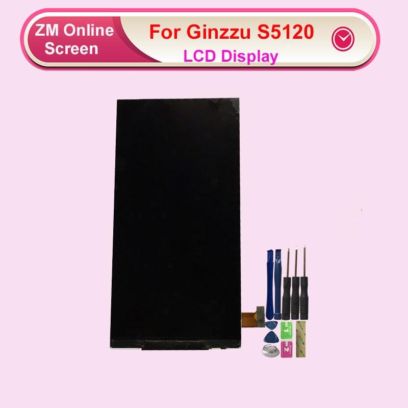 Pantalla LCD RYKKZ para Ginzzu S5120 sin reemplazo del digitalizador de pantalla táctil