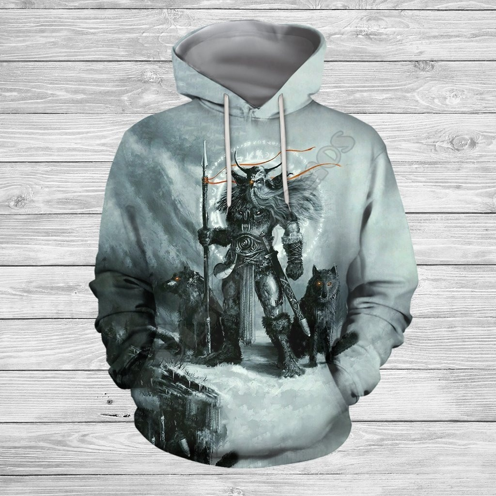 Толстовка унисекс с 3D-принтом викингов, свитшот на молнии, худи, женский и мужской пуловер, уличный костюм для косплея, 04