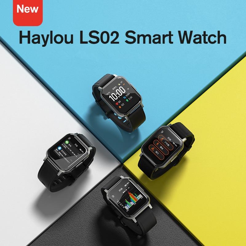 aliexpress - New Fashion Comfortable Haylou LS02 Smart Watch, IP68 Waterproof ,12 Sport Modes,Call Reminder, Bluetooth 5.0 Smart Band