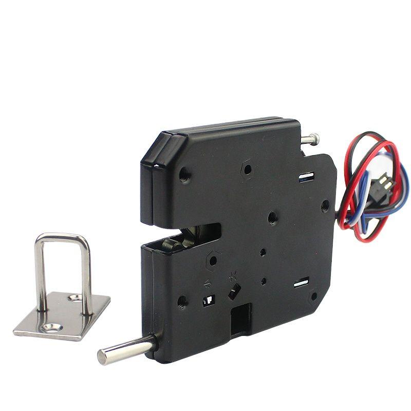 DC 12V locker door lock large elastic cabinet lock mailbox lock access control electronic lock electromechanical lock micro door operator small drawer cabinet electronic locks automatic access control