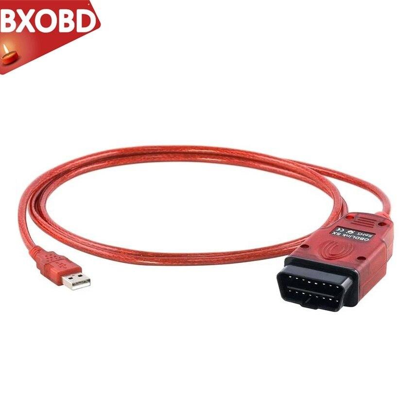 Cable de diagnóstico OBDLink para Renolink V1.87 interfaz de diagnóstico OBDLink SX herramienta de escaneo adaptador USB OBD