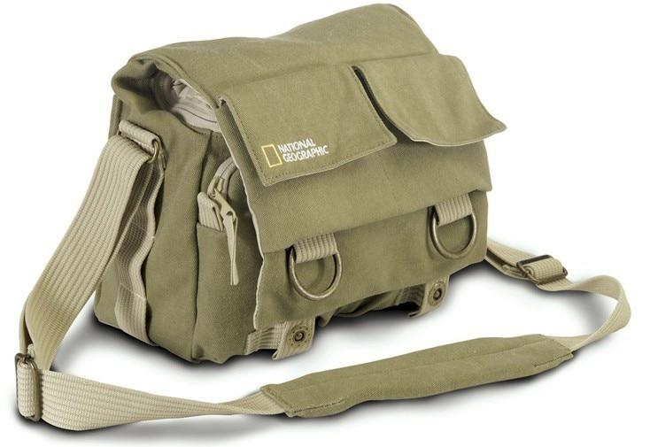 Nova ng2345 profissional dslr lona saco da câmera/caso de viagem foto saco ombro único para canon nikon para sony
