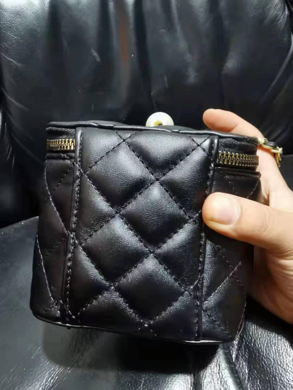 Grânulos de Ouro Bolsa das Senhoras Corrente de um Novos Pequenos Pequena Caixa Quadrada Ombro Inclinado Bolsa Batom Feminina 2021