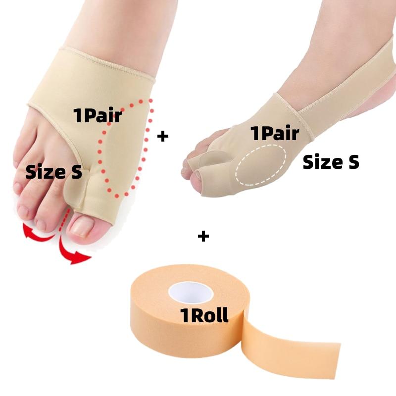 1 Set Hallux Valgus Silicone Straightener Orthopedic Guard Hammer Bunion Toe Corrector Relief Reliev