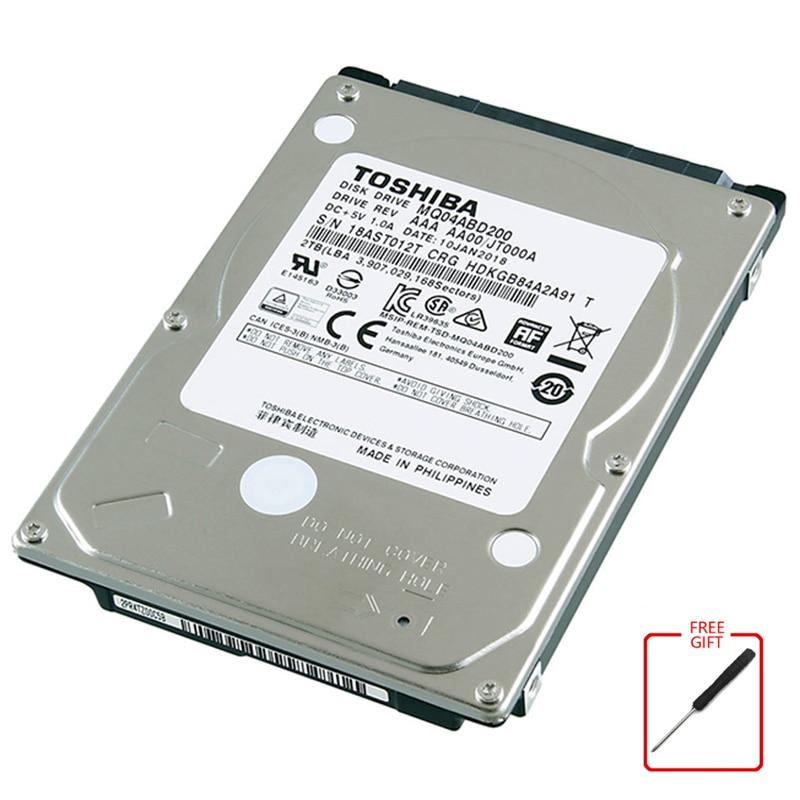 توشيبا 2 تيرا بايت القرص الصلب لأجهزة الكمبيوتر المحمول 2.5 HDD 2.5 Sata3 دفتر القرص الصلب القرص الصلب الداخلي 2T القرص الصلب هارديسك HD 5400RPM