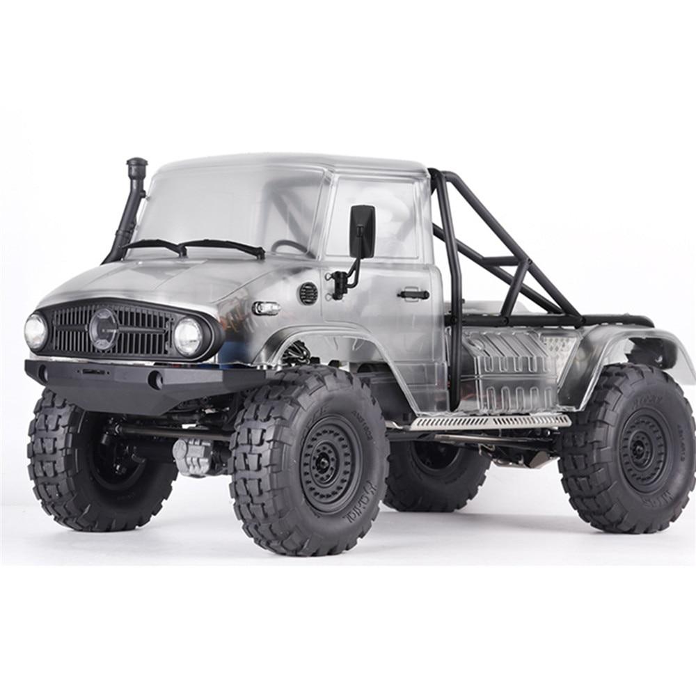 Para SCX10 II UMG10 4x4 / UMG10 6X6 modelo creativo Parrilla de coche luces de giro cubierta de luces traseras RC MODIFICACIÓN DE COCHE piezas accesorios