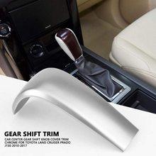 Auto Styling Center Pookknop Hoofd Cover Trim Chrome Auto Innerlijke Accessoires Voor Toyota Land Cruiser Prado J150 2010 - 2019