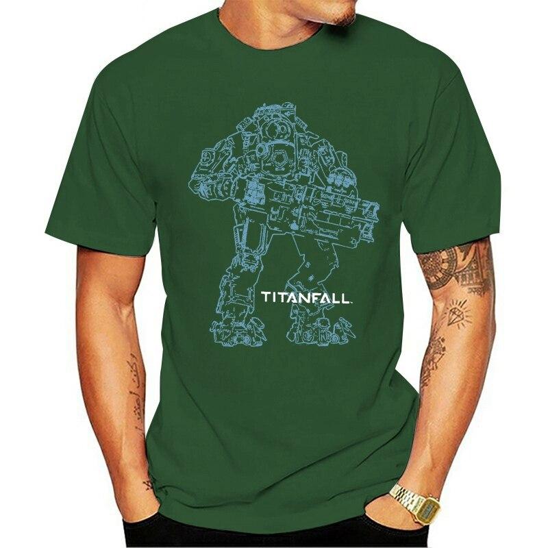 Camiseta oficial titan caída titan 2 bt Arte De Línea, unisex, macalan...