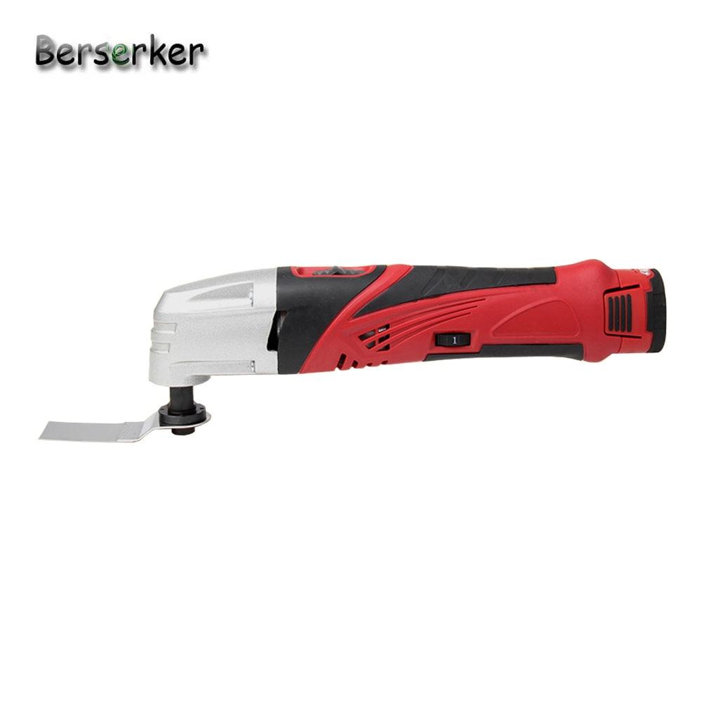 Berserker-أداة كهربائية لاسلكية متعددة الوظائف ، بطارية ليثيوم 12 فولت ، أداة تتأرجح متعددة الوظائف مع ملحقات