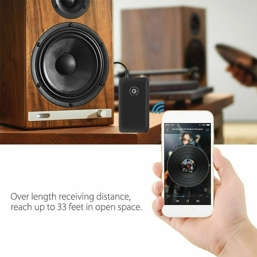 avantree long range bluetooth 5 0 transmitter receiver for tv 2 In 1 Bluetooth Audio Receiver Transmitter For TV Speaker PC Receiver Bluetooth Aux J7A8 Music Audio Transmitter Car Car W3V6