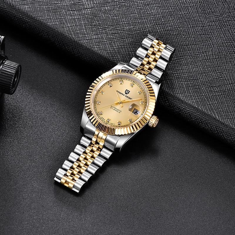 PAGANI DESIGN Top Brand Sapphire Automatic Men Watches Japan NH35A Mechanical Men Wrist Watch Stainless Steel Waterproof Watch