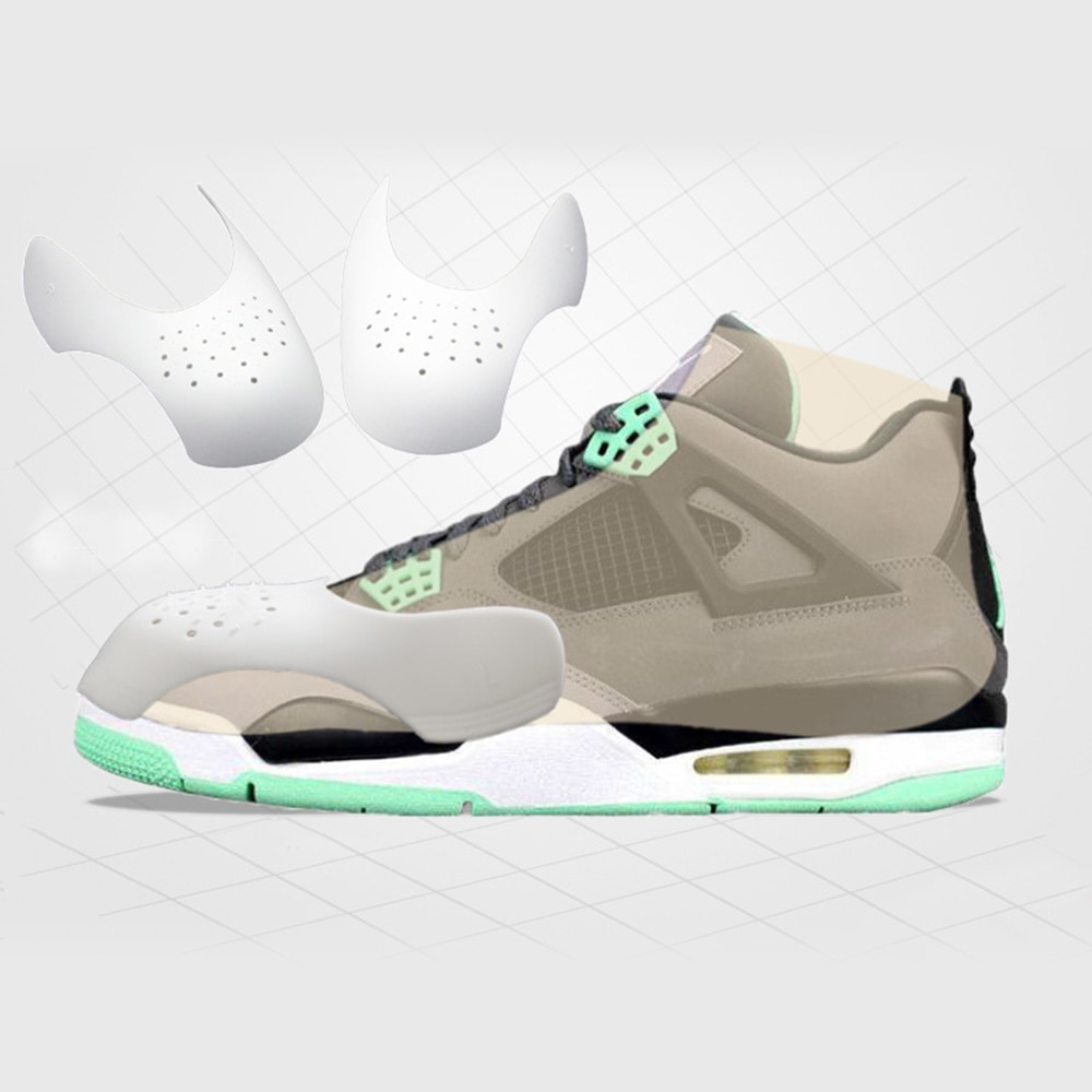Toe Support Sneaker Shoe Head Shaper Practical Universal Sneaker Decreaser Force Fields Anti Crease Shield Shoes Accessories