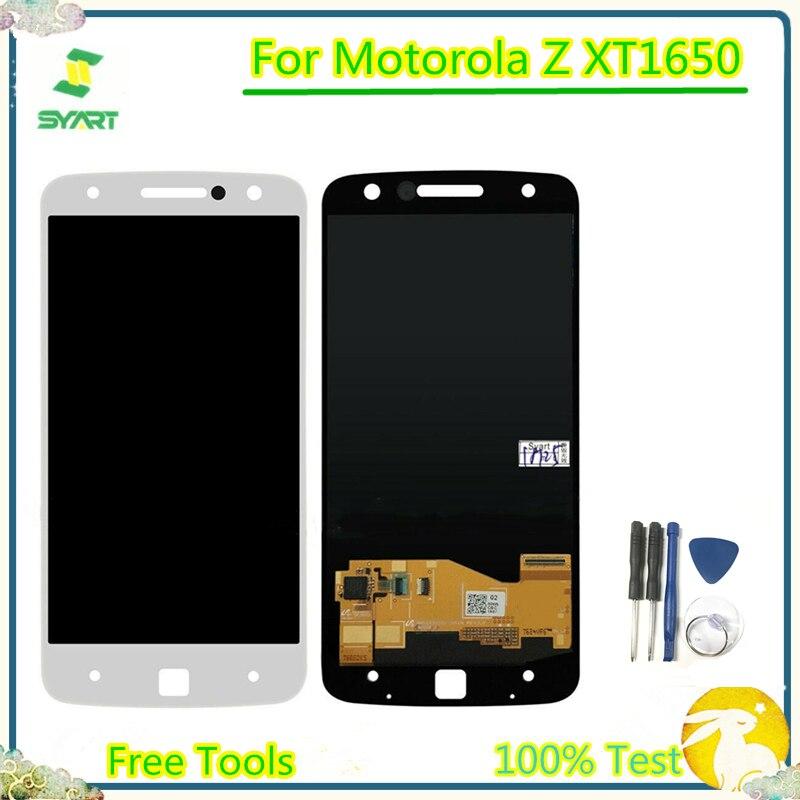 LCD Screen For Motorola moto Z XT1650-01 03 05 XT1650 screen LCD Display Touch Screen Digitizer Assembly For Moto Z XT1650-01