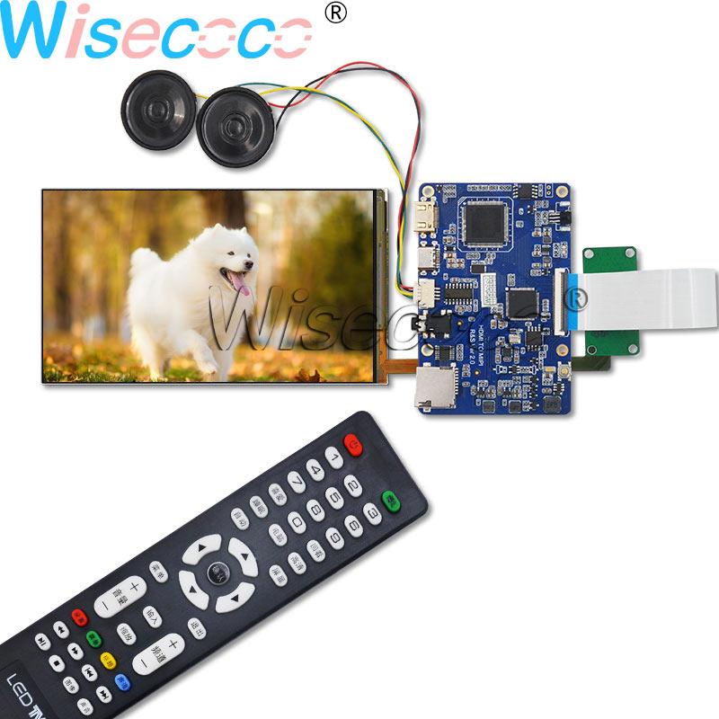 Wisecoco new 5.9 inch LCD monitor screen LS059T1SX01 FHD + MIPI Type-c SD remote control driver board