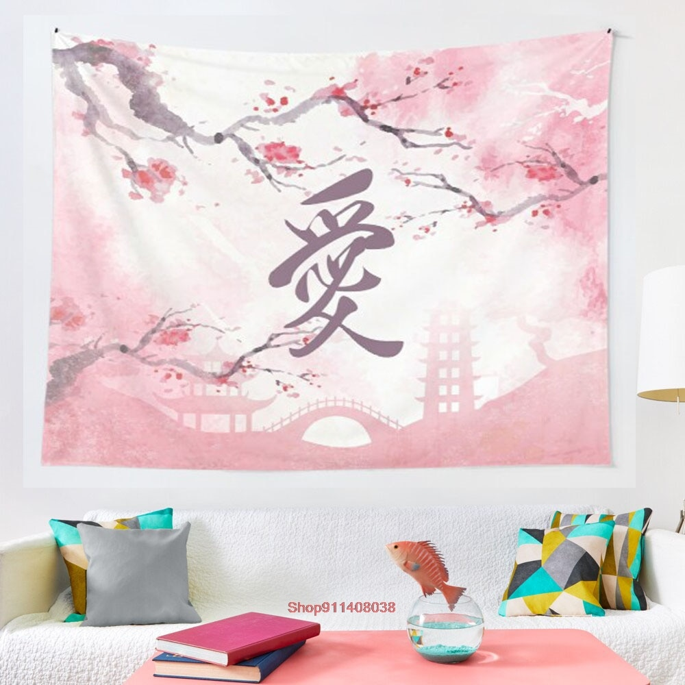 Symbol of Love tapestry Wall Tapestry Wall Hanging Wall Decor Bedspread Wall Art Coverlet Bedding Curtain Personalized Table