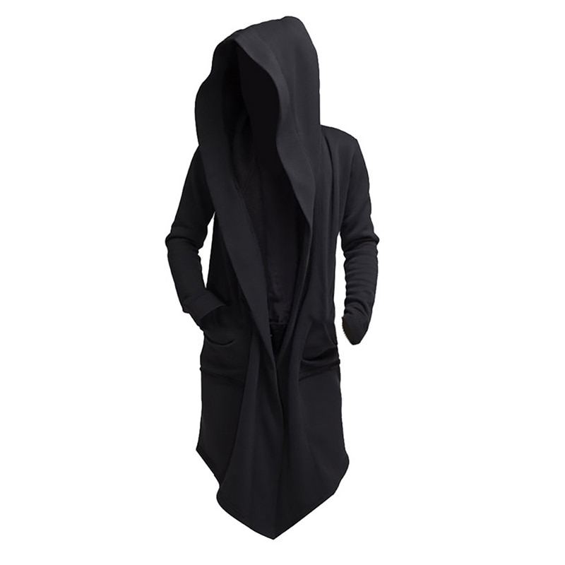 Мужские толстовки с капюшоном JODIMITTY 2021, черные толстовки в стиле хип-хоп, модная куртка, плащ с длинным рукавом, пальто, верхняя одежда, горяч...
