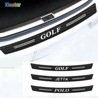 matt carbon fiber car bumper protector sticker for vk golf polo golf 6 golf 7 mk1 mk2 mk3 mk4 mk5 mk6 mk7 bora