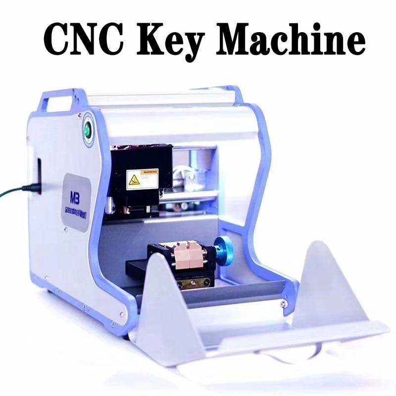 M3 Automati CNC Key Duplicating Machine Key Cutting Machine drill machine to make car door keys locksmith tools