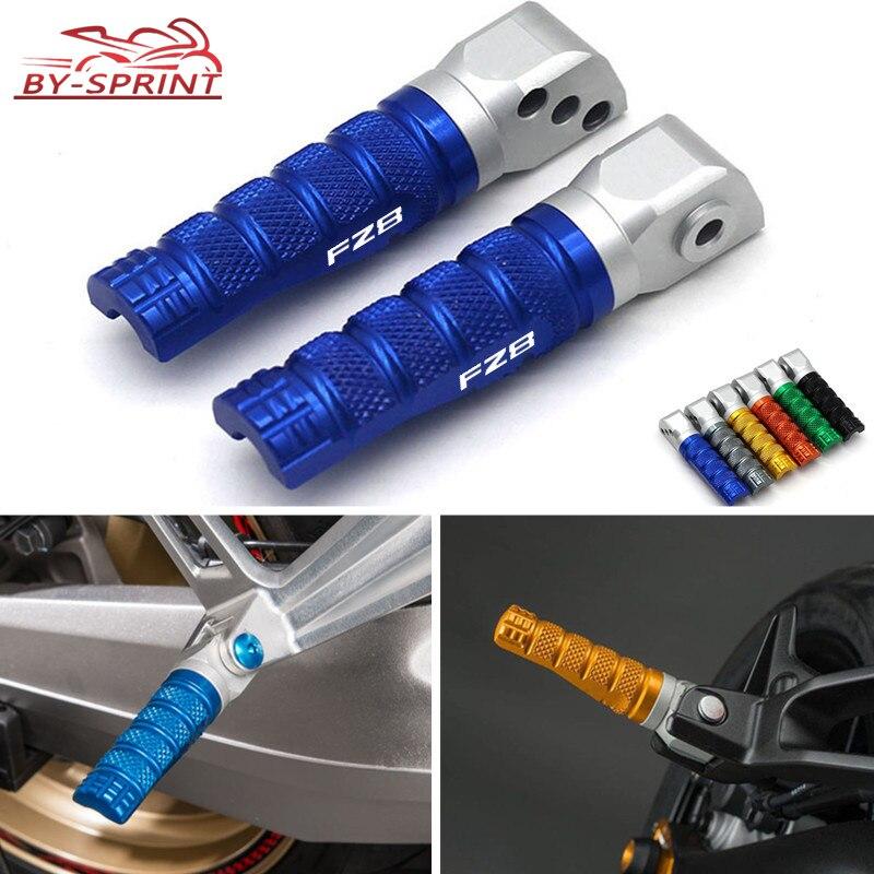 Мотоциклетные алюминиевые аксессуары с ЧПУ, Задние подножки, педали, подножки, Пассажирские подножки для Yamaha FZ8 Fazer FAZER fz8 2011-2013