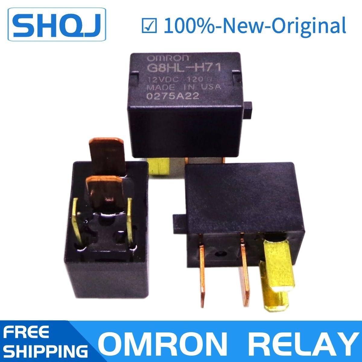 10 قطعة OMRON السيارات التتابع G8HL-H71 12VDC DC12V العلامة التجارية الجديدة والأصلية التتابع