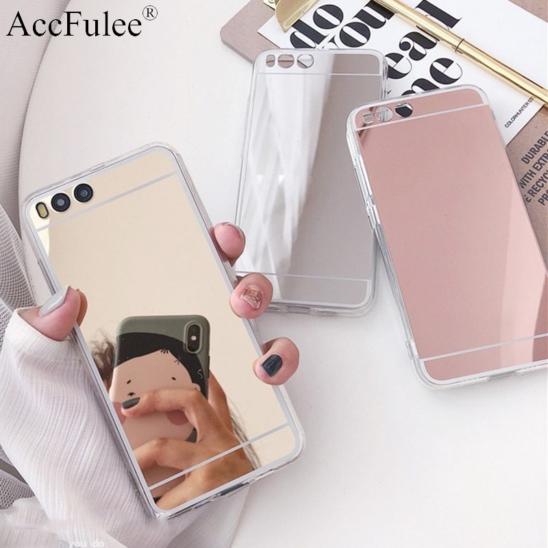 Caso de telefone espelho de luxo para xiaomi redmi 9a 9c 9 8a 8 pro 7a 6a 5 plus 10x 4g hongmi k20 k30 pro s2 y2 y3 caso tpu macio capa