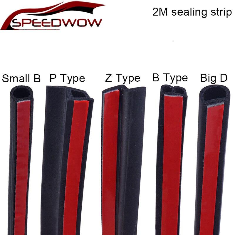 SPEEDWOW 2 м большая D маленькая DZ Форма PB Тип Автомобильная дверь защитная полоса шумоизоляция звукоизоляция Автомобильная резиновая прокладк...