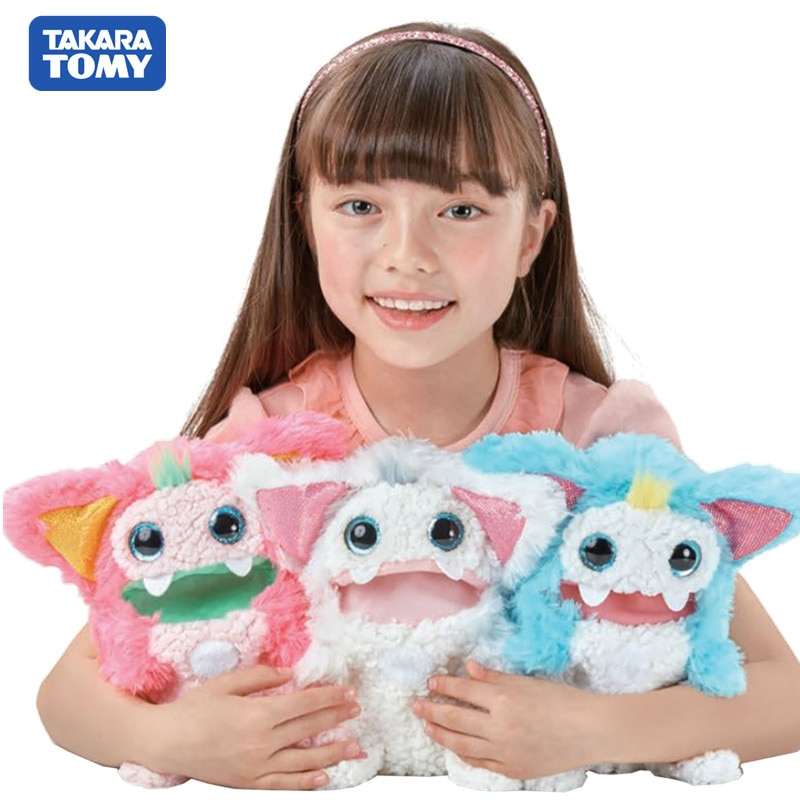 Takara-tomy Tomica Rizmo juguetes de peluche populares juguetes para bebés divertidos juguetes mágicos para niños muñecas de terciopelo Shu adorno de algodón