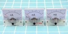 85C1-mA DC puntero Amperímetro analógico panel 1mA 2mA 3mA 5mA 10mA 20mA 30mA 50mA 100mA 150mA 100mA 150mA 200mA 300mA 500mA