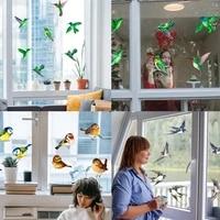 bird anti collision warning sticker glue free window sticker color warning sticker electrostatic glass sticker