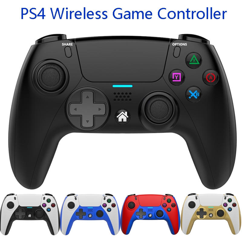 Support Bluetooth-compatibleWireless Gamepad For PS4 Elite//Slim/Pro Console With Programmable Back
