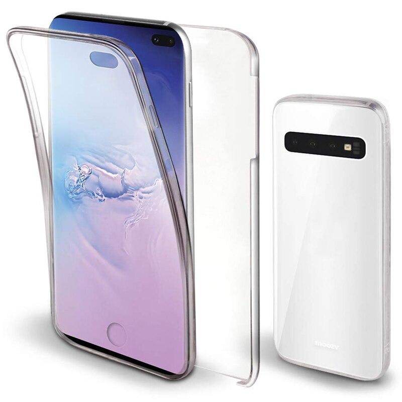 360 funda protectora completa para Samsung Galaxy A51 A71 A10 A40 S10 S8 S9 Plus S20 Ultra A50 A70 TPU PC cubierta trasera