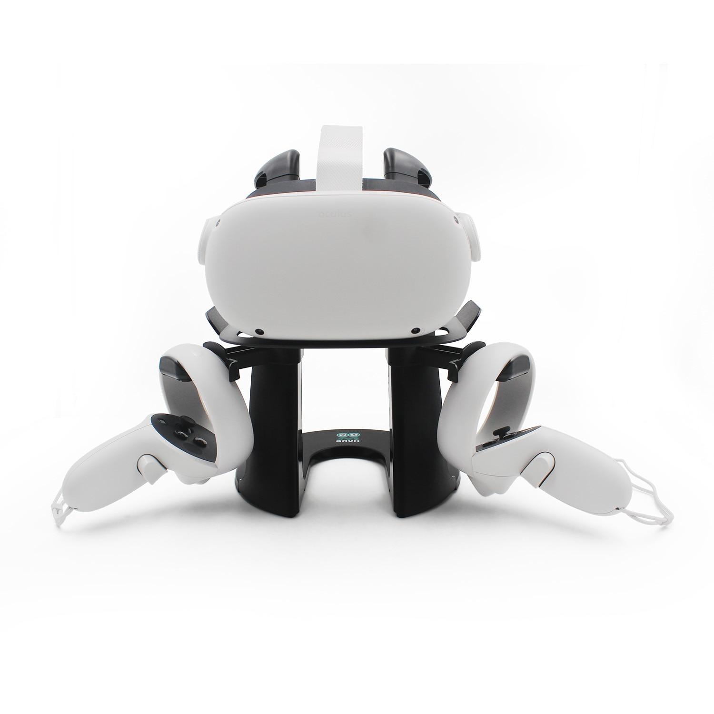 كوة كويست 2 حامل متوافق سماعات VR حامل ل كوة كويست/Rift S/HTC فيف/صمام مؤشر فر حامل