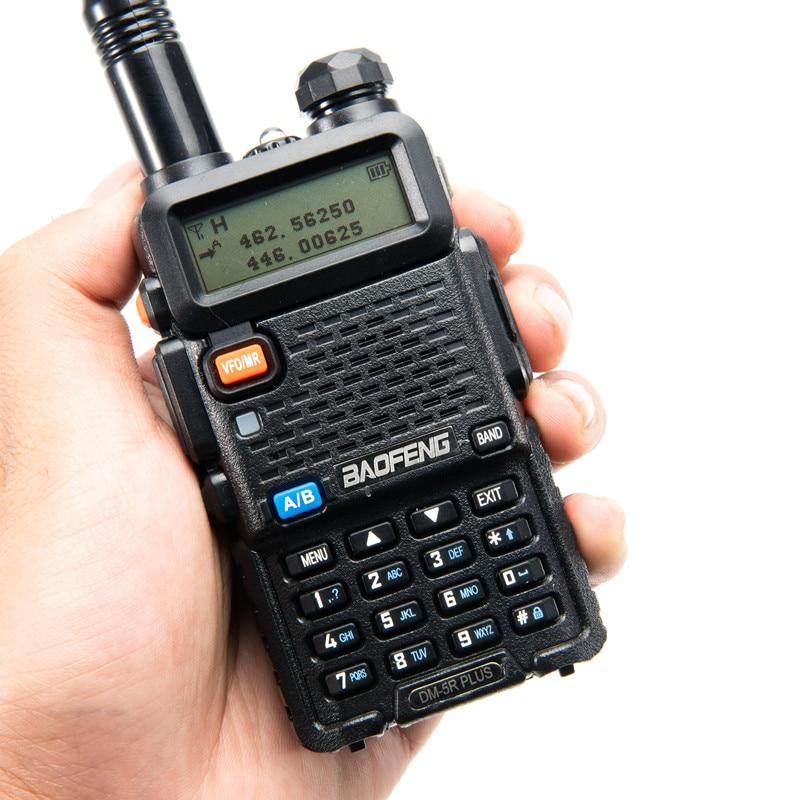 Baofeng DM-5R PLUS 10 Km DMR Radio HF Transceiver Repeater Digital Walkie Talkie DMR Two-way radio VHF/UHF Dual Band radio DM5R enlarge