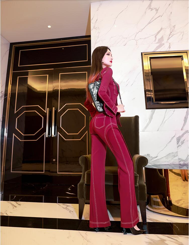 2020 new spring and autumn office lady Fashion casual brand female women ladies girls long sleeve jumpsuits clothing