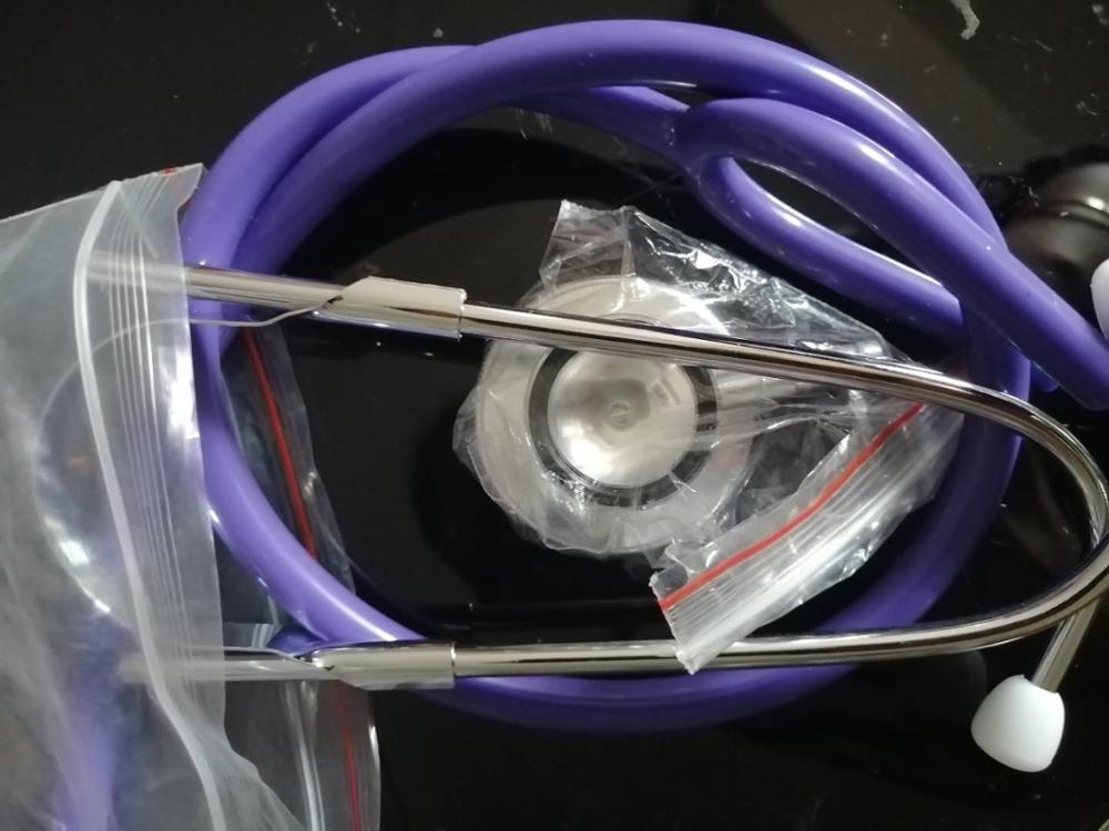 Professional Stethoscope Medical Single Head Colorful Multifunctional Stethoscope Health Care