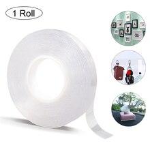 1/2/3/5m reutilizable Nano Magic Tape cinta adhesiva de doble cara extraíble y adhesivo lavable cinta Hogar y coche herramientas de fijación