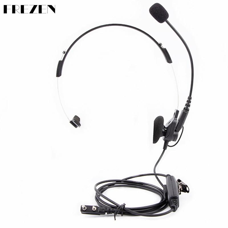 Unilateral CS Tactical Advanced Headset For Kenwood Baofeng Two Way Radio