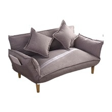 Modern Armchair Sofa Bed 5 Angle Adjustable Reclining Back and Arm Living Room Furniture Home Small Double Sofa Couch Recliner