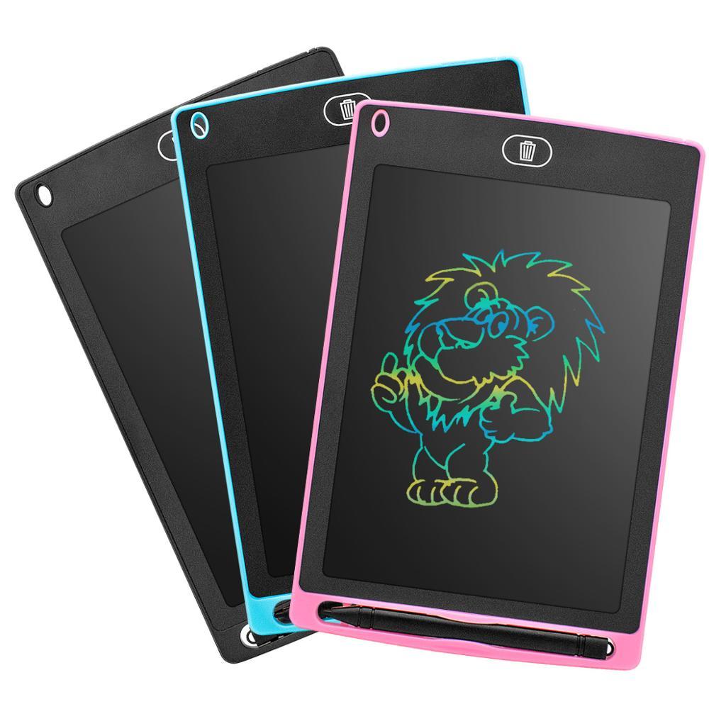 Электронная доска для рисования 8,5 дюйма, ЖК-экран, цветной планшет для письма, цифровые графические планшеты для рисования, доска для рукоп...