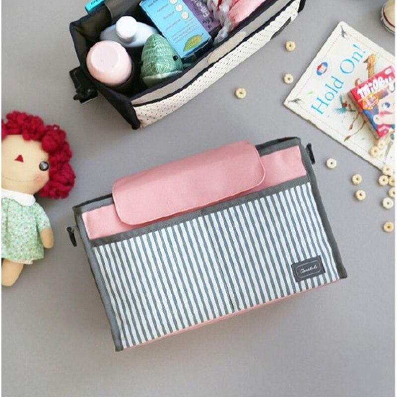 Multifunctional Mummy Bag Baby Strolle Diaper Bag Pram Hanging Bag Mommy Bebes Nappy Stroller Organizer Travel Pushchair Wet Bag