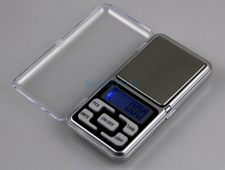 شحن مجاني 50 قطعة/الوحدة Mini 300 جرام الإلكترونية الرقمية التوازن 300 جرام x 0.01 مقياس الوزن مقياس الجيب