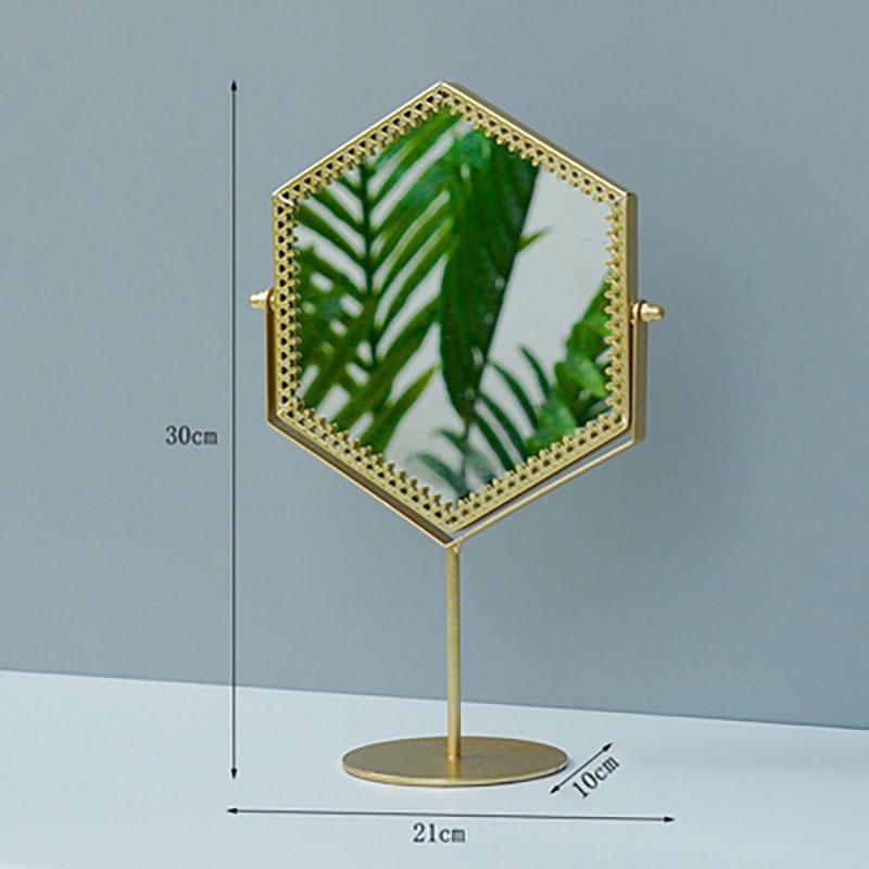 Miroir-Espejo decorativo Reversible, espejo De Pared para salón De belleza, decoración De...